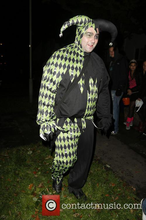 Jonathan Ross and Various Costumed Guests Attend 17