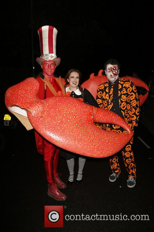 Jonathan Ross and Various Costumed Guests Attend 19
