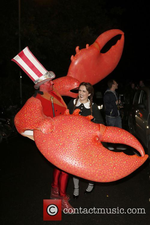 Jonathan Ross and Various Costumed Guests Attend 23