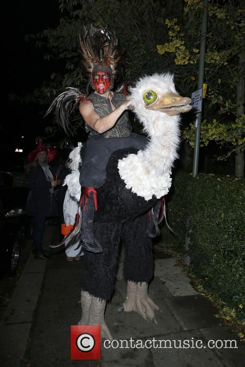 Jonathan Ross and Various Costumed Guests Attend 25