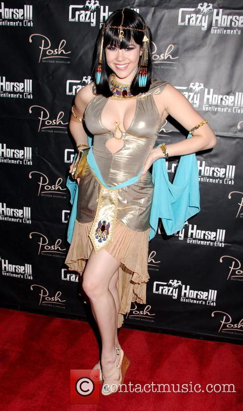 Clair Sinclair hosts a Halloween party at Posh...