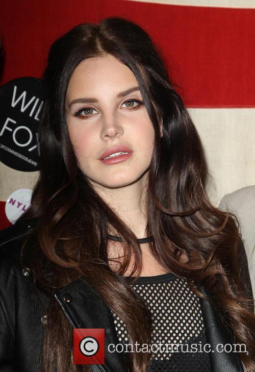 Lana Del Rey, at Sunset Marquis Hotel & Villas