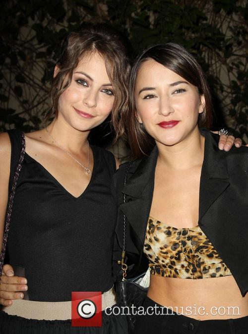 Willa Holland and Zelda Williams 2