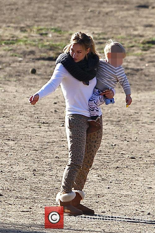 Hilary Duff and Luca Comrie 13