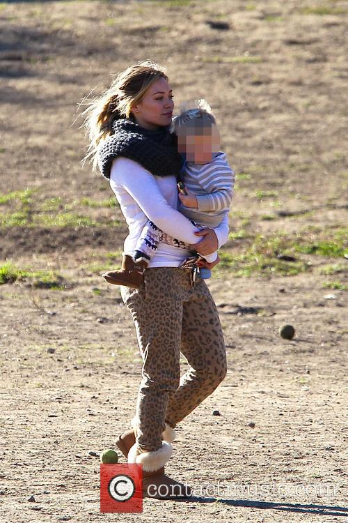Hilary Duff and Luca Comrie 15