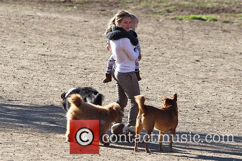 Hilary Duff and Luca Comrie 18