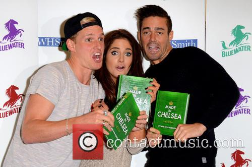Jamie Laing, Alexandra Felstead and Spencer Matthews 2