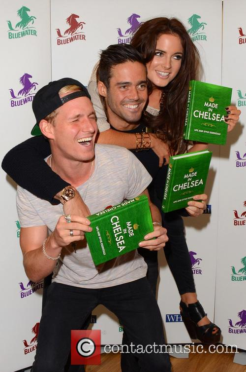 Jamie Laing, Alexandra Felstead and Spencer Matthews 6
