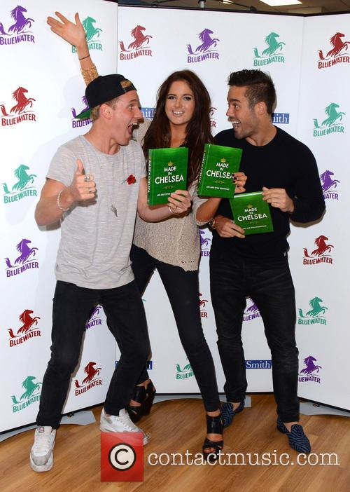 Jamie Laing, Alexandra Felstead and Spencer Matthews 7