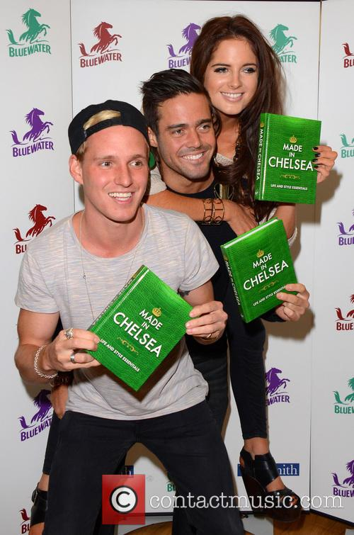 Jamie Laing, Alexandra Felstead and Spencer Matthews 12