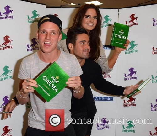 Jamie Laing, Alexandra Felstead and Spencer Matthews 13