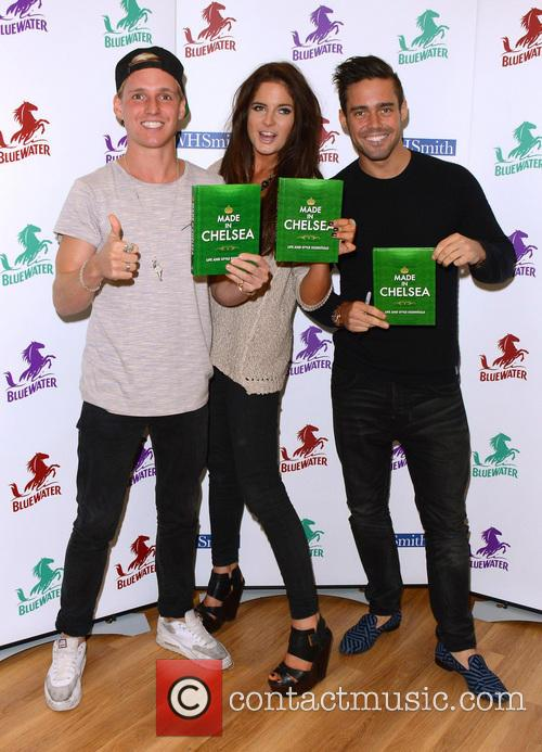 Jamie Laing, Alexandra Felstead and Spencer Matthews 1