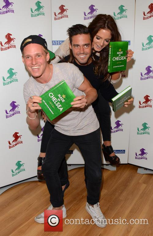 Jamie Laing, Alexandra Felstead and Spencer Matthews 16