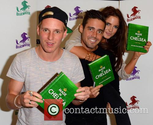 Jamie Laing, Alexandra Felstead and Spencer Matthews 17