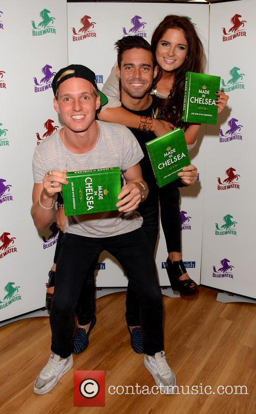 Jamie Laing, Alexandra Felstead and Spencer Matthews 18