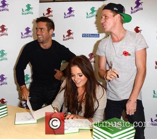 Spencer Matthews, Alexandra Felstead and Jamie Laing 2