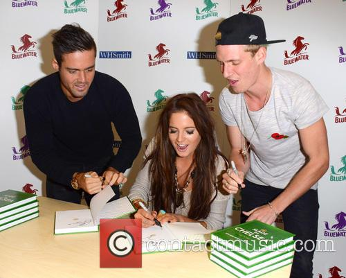 Spencer Matthews, Alexandra Felstead and Jamie Laing 6