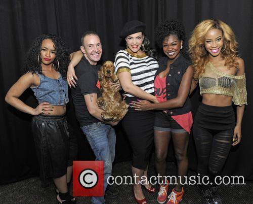Rielle Carrington, Jeremy Joseph, Caro Emerald, Sese Foster, Jeanette Akua and Miss Dynamix 5