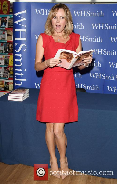 Amanda Holden Book Signing in Milton Keynes