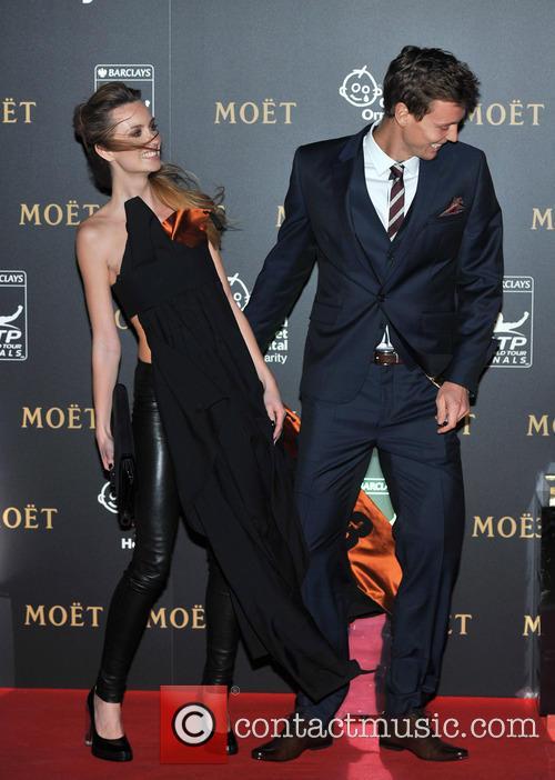 Tomas Berdych and Ester Satorova 1