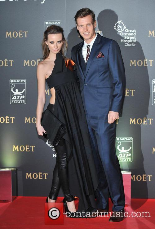 Tomas Berdych and Ester Satorova 2