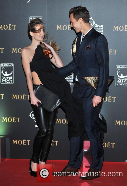 Tomas Berdych and Ester Satorova 3