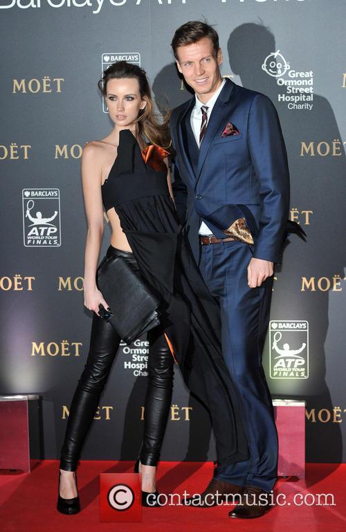 Tomas Berdych and Ester Satorova 4