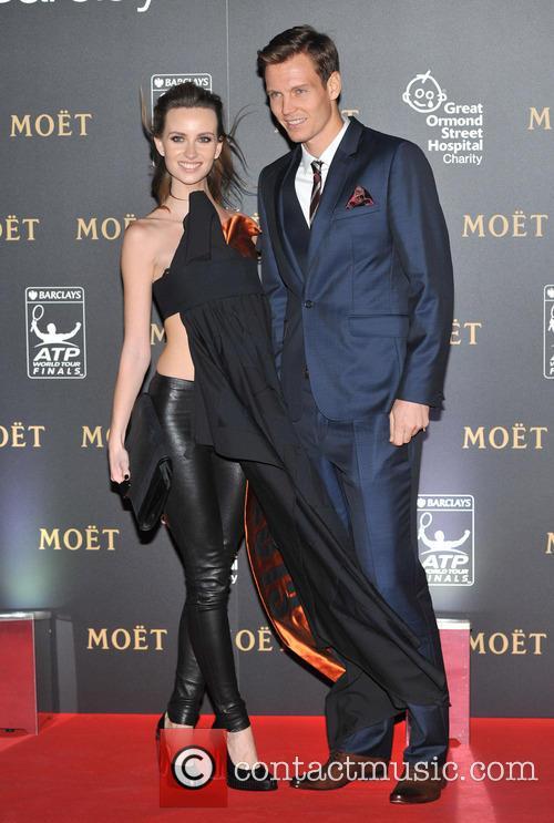 Tomas Berdych and Ester Satorova 5