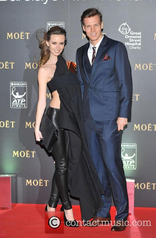 Tomas Berdych and Ester Satorova 6