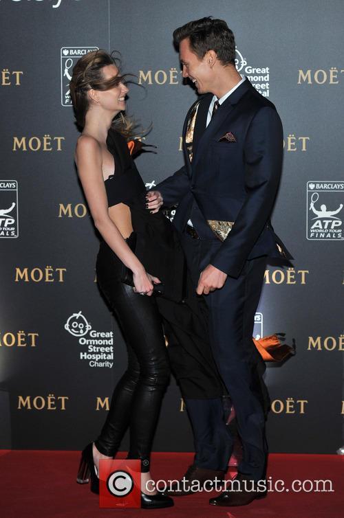 Tomas Berdych and Ester Satorova 7