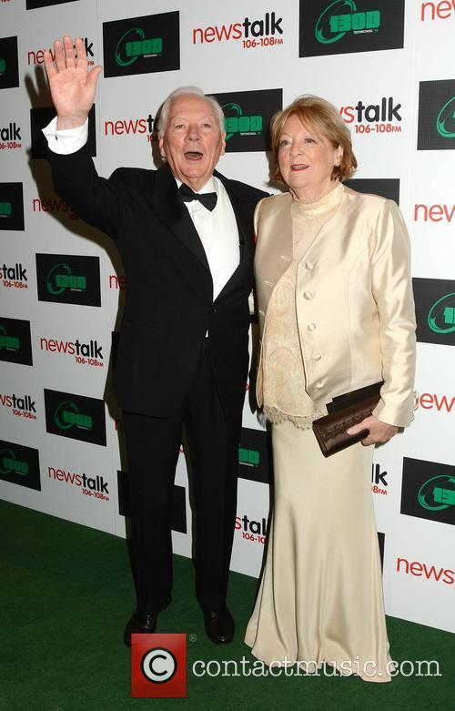 Gay Byrne and Kathleen Watkins 2