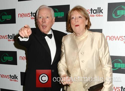 Gay Byrne and Kathleen Watkins 1