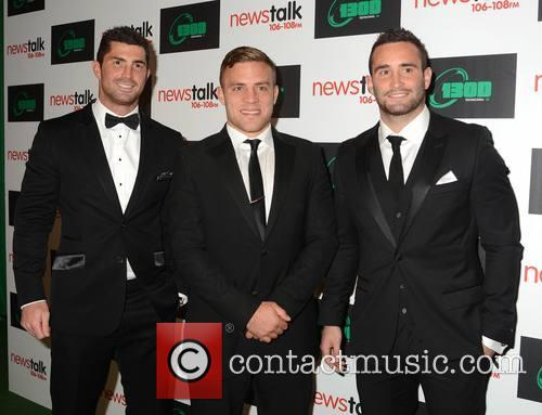Rob Kearney, Ian Madigan and Dave Kearney 9