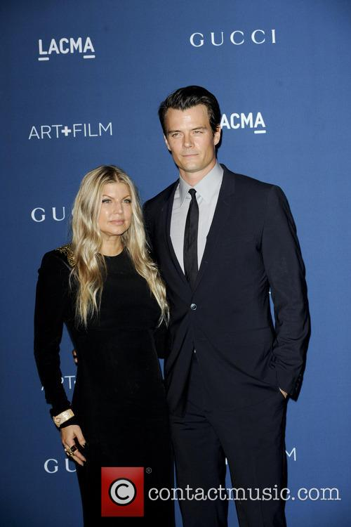 fergie josh duhamel lacma 2013 art and film 3933764