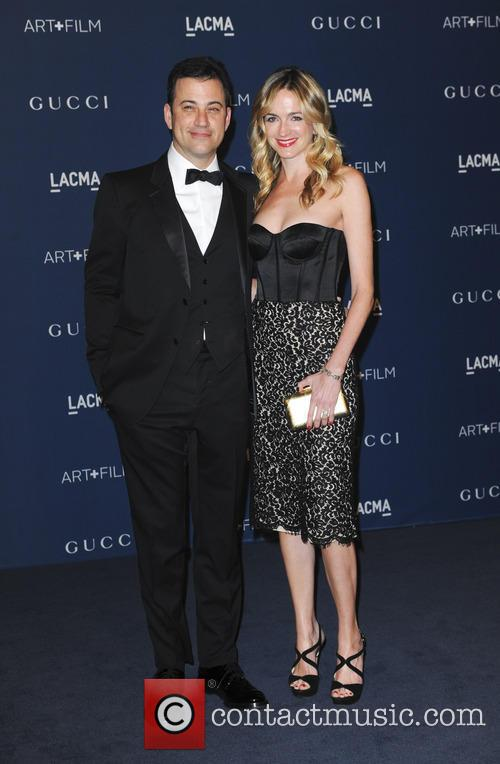 Jimmy Kimmel and Molly McNearey