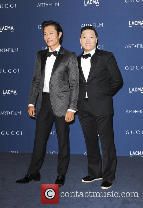 Psy and Byung Hun Lee 5