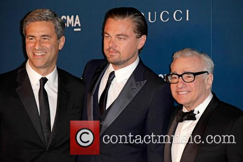Michael Govan, Leonardo Dicaprio and Martin Scorsese