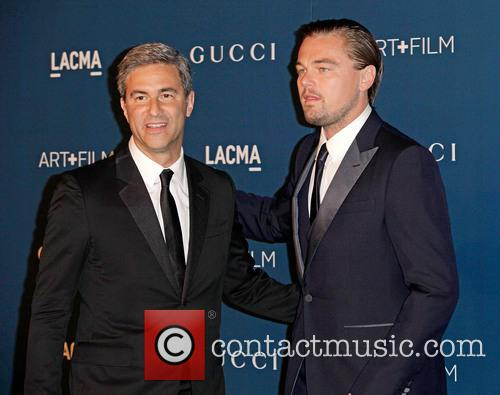 Michael Govan and Leonardo Dicaprio 1