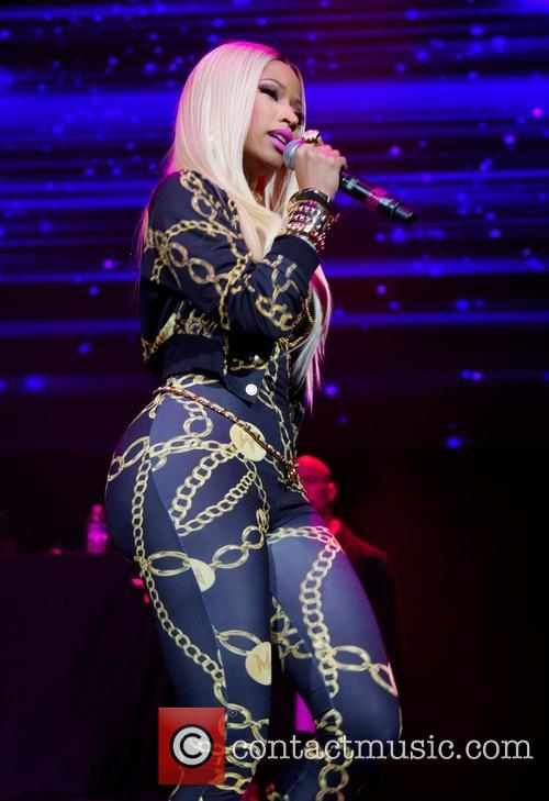 Nicki Minaj Performing Powerhouse