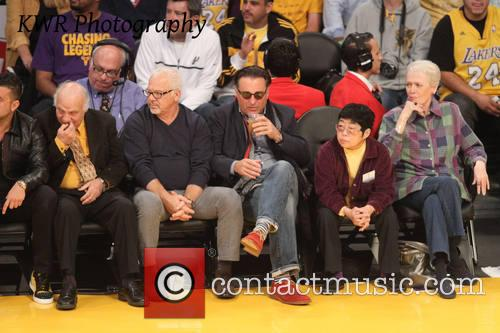 andy garcia celebs at the lakers game 3932695