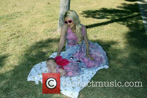 Holly Madison and Rainbow Aurora Rotella 5