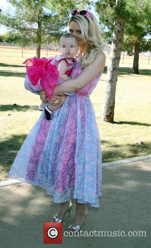 Holly Madison and Rainbow Aurora Rotella 9