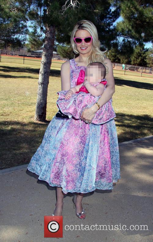 Holly Madison and Rainbow Aurora Rotella 10
