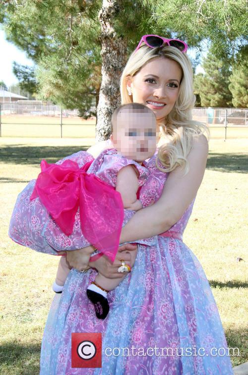 Holly Madison and Rainbow Aurora Rotella 1