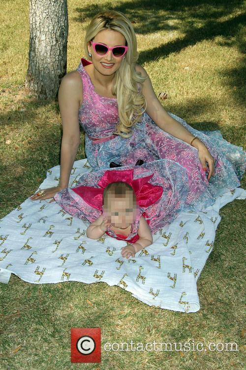 Holly Madison and Rainbow Aurora Rotella 10
