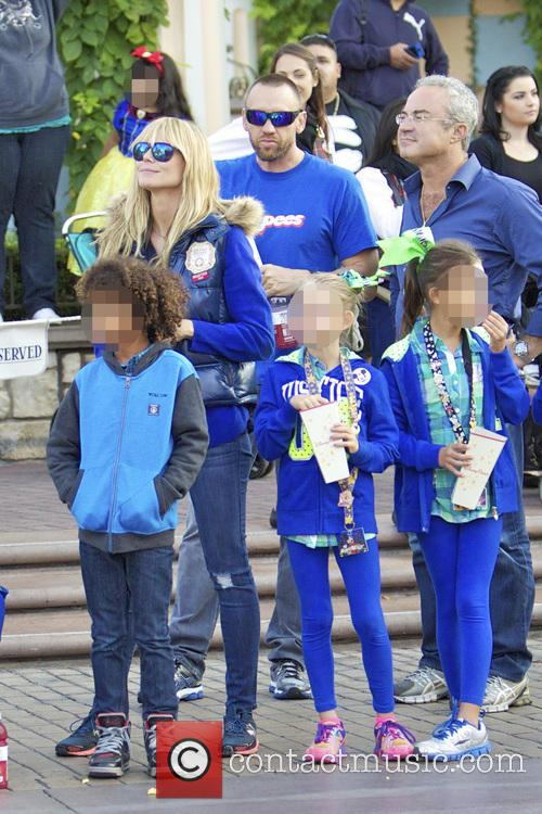Heidi Klum, Johan Samuel, Leni Samuel and Martin Kristen 5