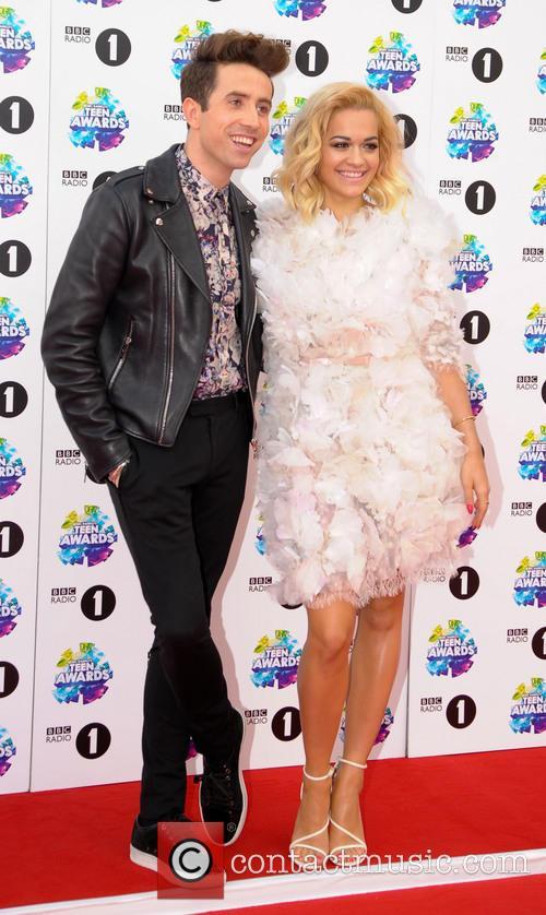 Nick Grimshaw and Rita Ora 2