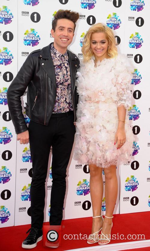 Nick Grimshaw and Rita Ora 1