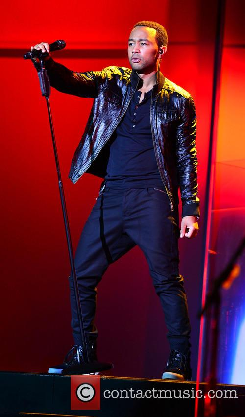 John Legend performs live at The Fillmore Miami...