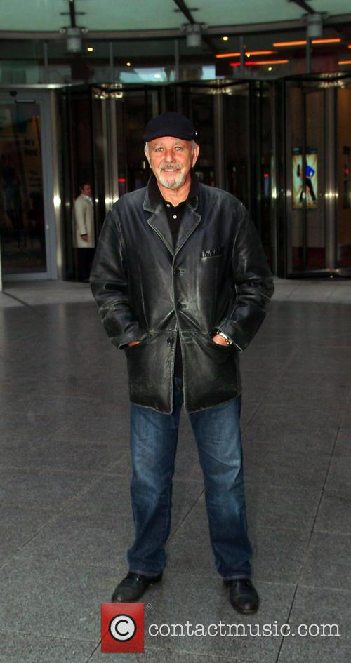 David Essex outside the BBC Broadcasting House